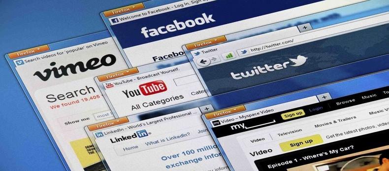 Social media web sites