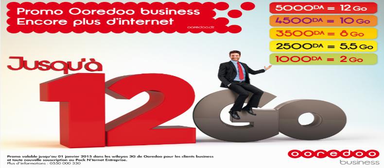 Photo Ooredoo lance une promo aux entreprises