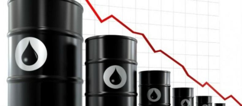 pétrole chute