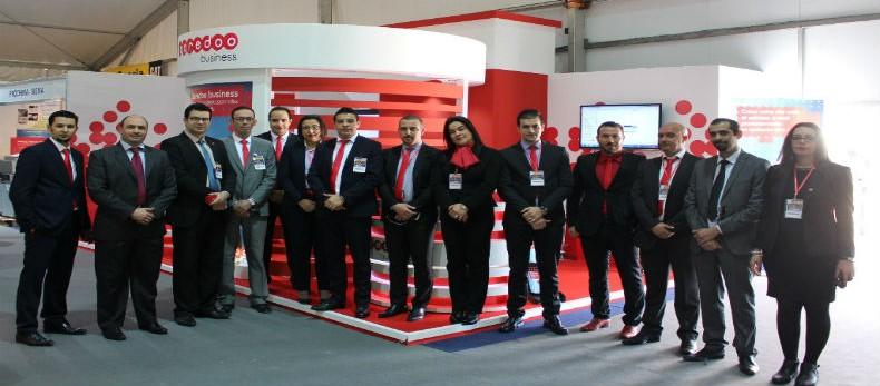 Photo Ooredoo au Salon International Fournisseurs de Produits et Services