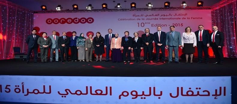 Photos de groupe Ooredoo célèbre la femme algérienne 2015