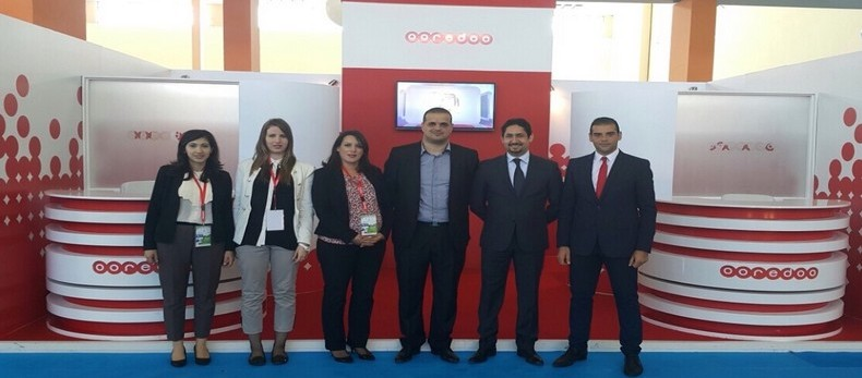 Photo Ooredoo au Salon de l'Emploi 2015