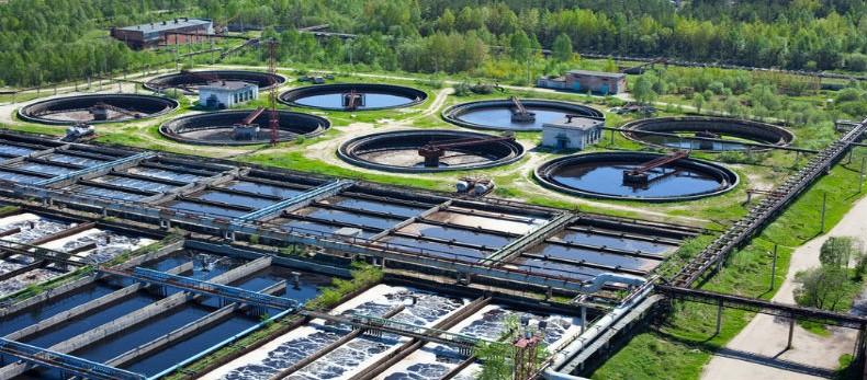 usine de traitement des eaux